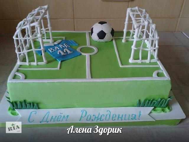 купить бу Праздничный торт футбольное поле в Киеве