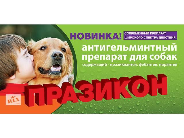Празикон - новейший ангельминтик широкого спектра  для собак Индия- объявление о продаже  в Днепре (Днепропетровск)