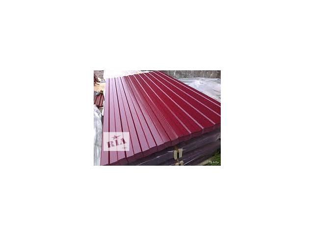 продам Предлагаем профнастил кровельный и стеновой, глянцевый и матовый , толщина металла от 0,35-0,4-0,45-0,5 бу в Житомире