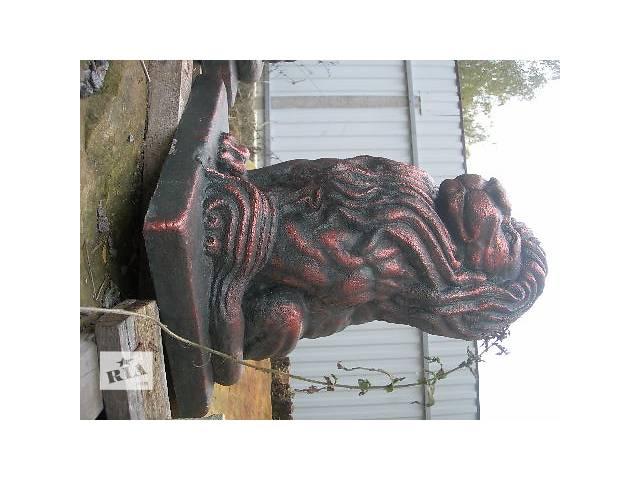 Садовые фигуры лев из бетона новый- объявление о продаже  в Виннице