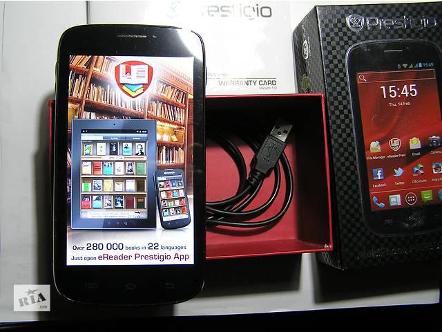 купить бу Prestigio MultiPhone PAP5000DUO Black в Броварах