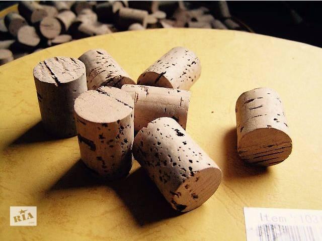бу Пробка корковая цельная для винной бутылки в Мариуполе