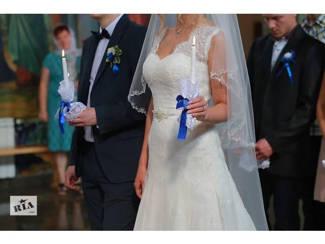Продается дизайнерское свадебное платье- объявление о продаже  в Ровно