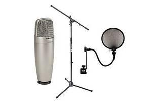 Нові Студійні мікрофони Samson