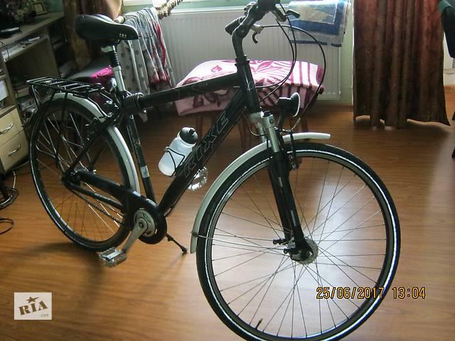купить бу продається німецький шосейний  велосипед RIXE LYON алюмінєєва рама,(планітарка 7 передач) динамо , в Луцке