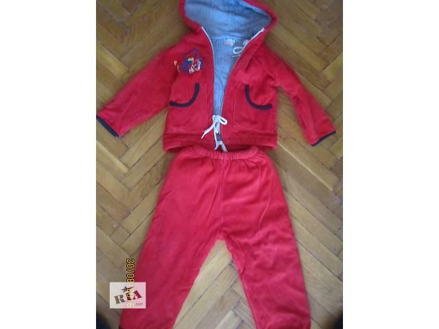 бу продається теплий костюм на дівчинку від 1 до 2 років в Ивано-Франковске