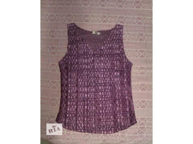 Продается новая футболка из стрейчевого кружева. Размер 48-52. Производство Турция- объявление о продаже  в Харькове
