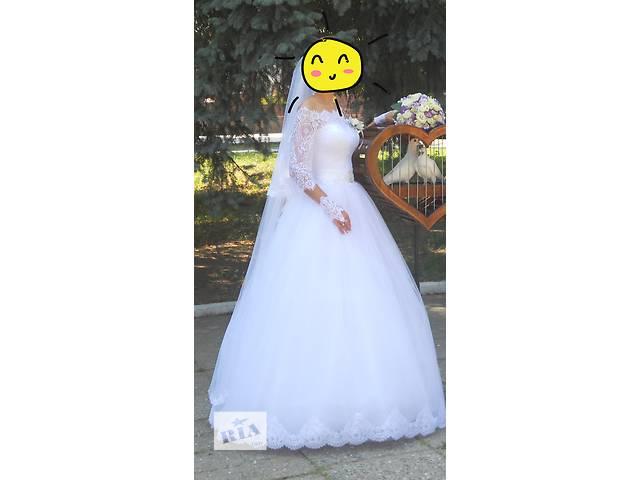 бу Продается свадебное платье в отличном состоянии. в Знаменке (Кировоградской обл.)