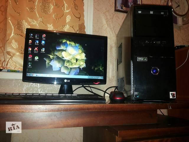 продам Продается игровой ПК (3.0-3-7GHz/GT240 1Gb/RAM 4Gb/HDD 750Gb бу в Донецке