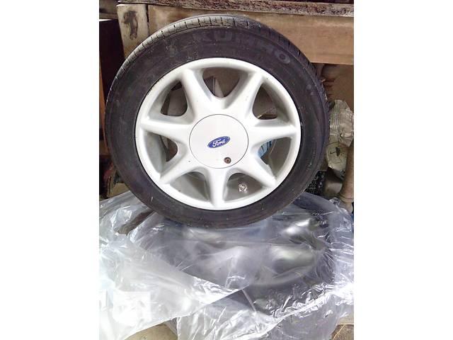 Продам 2 оригинальных легкосплавных дисков на Ford в хорошем состоянии и резиной KUMHO- объявление о продаже  в Николаеве