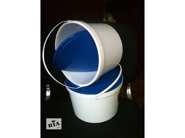 купить бу Продам 5-литровые пластиковые б/у ведра с крышкой в Харькове