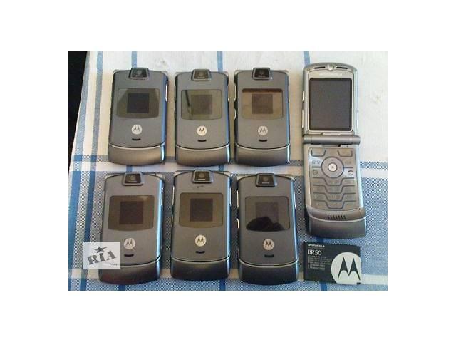 продам Продам 7 телефонов CDMA Motorola RAZR V3C бу в Харькове