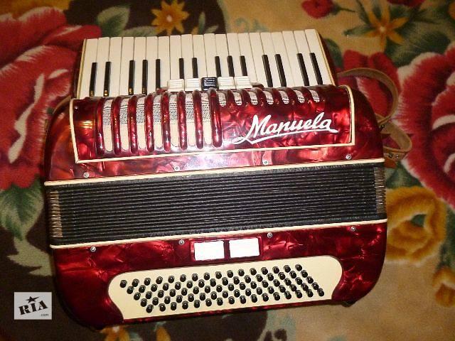 Продам аккордеон Manuela немецкого производства в хорошем состоянии.- объявление о продаже  в Луцке