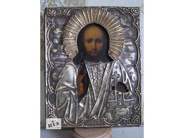 купить бу Продам антикварную икону Господь Вседержитель в Киеве