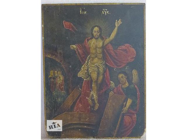 Продам антикварную икону Знамение- объявление о продаже  в Киеве
