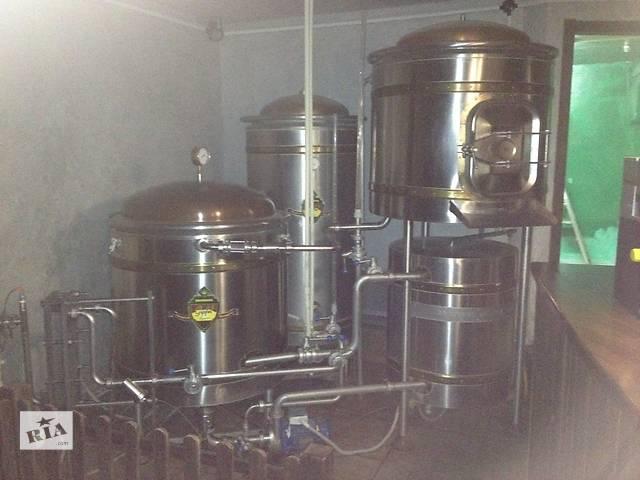 купить бу Продам австрийскую пивоварню Brauhaus 250 в Киеве