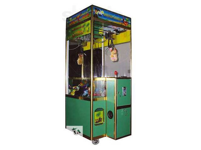 продам Продам автомат кран-машина, мягкая игрушка вендинговый (MASTER GAMES) бу в Кременчуге