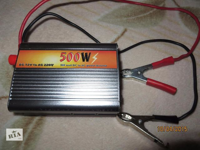 Преобразователь напряжения 12-220 вольт