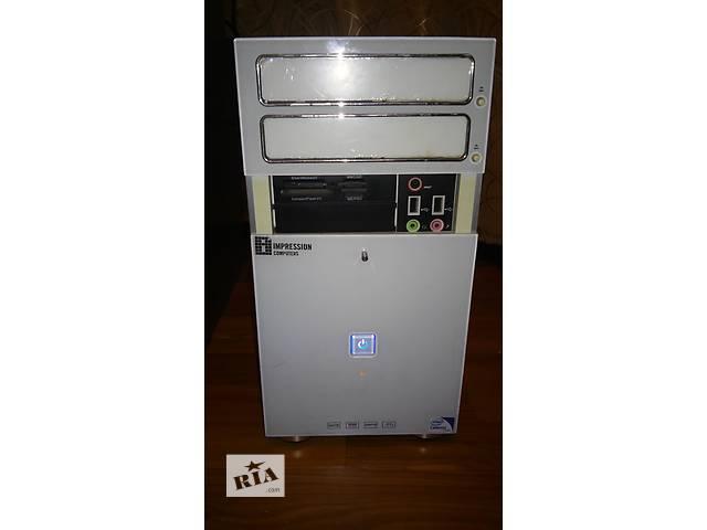 бу Продам б/у системный блок Impression Celeron E3300/2Gb/320Gb/DVD-RW/AT в Киеве
