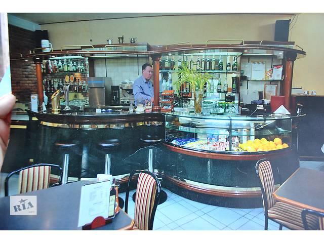 купить бу Продам барную стойку бу из гранита для ресторана кафе бара. Барная стойка бу состоит из гранита и дерева  в Киеве