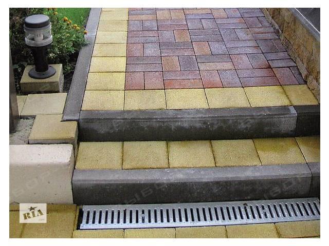 продам Продам бордюр тротуарный,  брусчатку, плитку,  изделия из камня. бу в Житомире