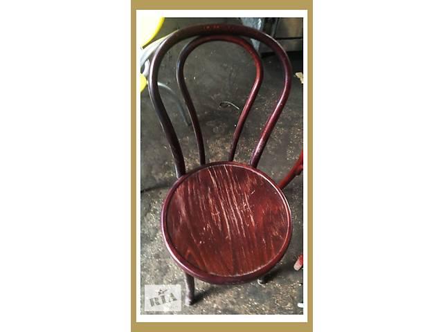 Продам бу стулья для кафе. Стулья в венском стиле. - объявление о продаже  в Киеве