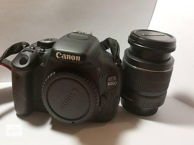 Продам Canon 600D kit  18-55- объявление о продаже  в Днепре (Днепропетровск)