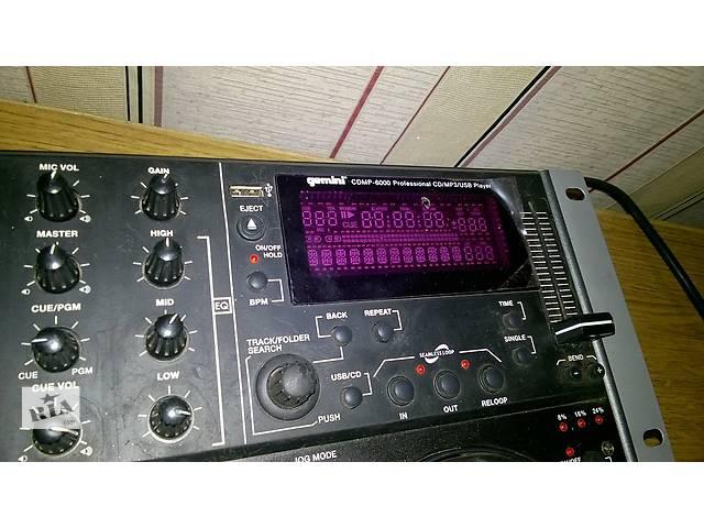 бу продам CD-проигрыватель  Gemini CDMP-6000  в Виннице