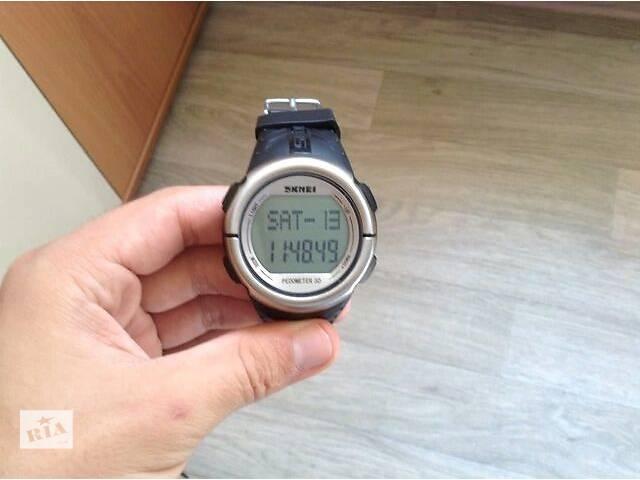 бу продам часы шагомер—пульсомер Skmei в Харькове