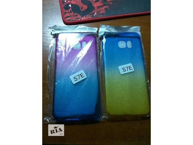 купить бу продам чехол и защитное стекло на Samsung Galaxy S7 Edge в Киеве