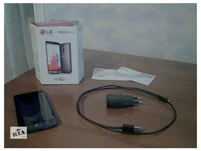 купить бу Продам Cмартфон LG G3s D724 Black в Харькове