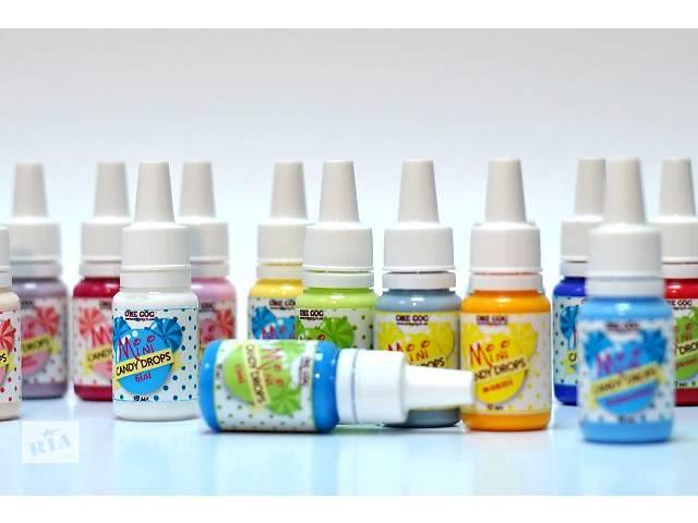 купить бу Продам декоративные жидкие дропсы (капли полубусинки) в Полтаве