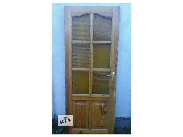 бу Продам деревянные двери. в Киеве