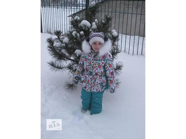 Продам деский зимний костюм - комбинезон с курточкой, в отличном состоянии- объявление о продаже  в Харькове