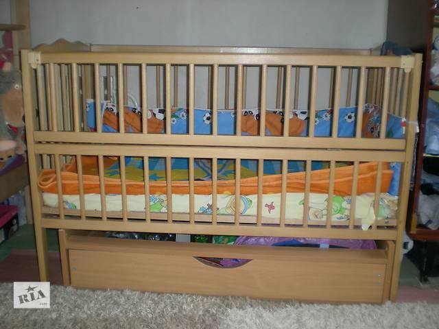 продам продам детскую кроватку+ матрас кокос 5 сл. бу в Днепре (Днепропетровск)