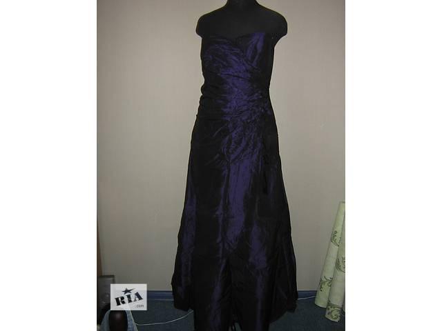 купить бу Продам длинное синее платье в Запорожье