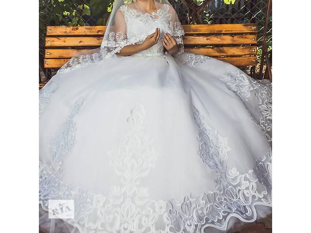 Продам очень красивое свадебное платье.- объявление о продаже  в Новограде-Волынском