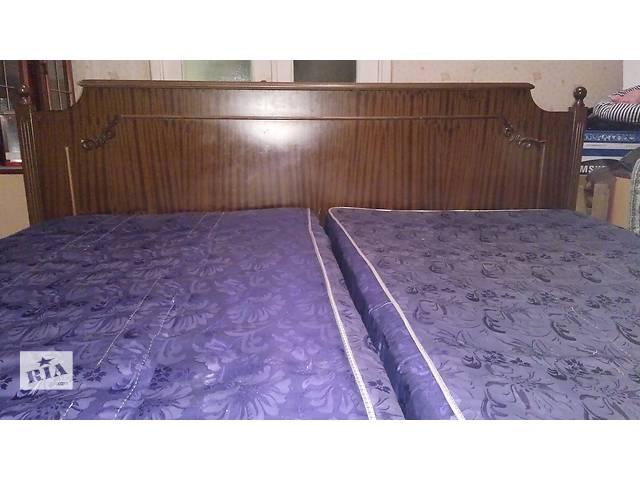 Продам двухспальную кровать б/у- объявление о продаже  в Запорожье
