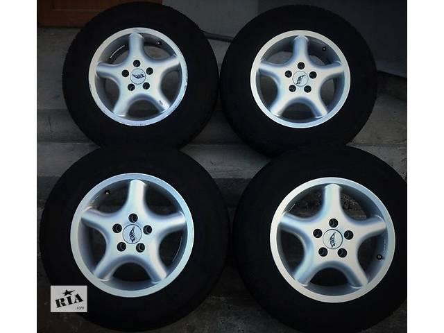 купить бу Продам диски AEZ R14, 5*100 - 4 шт. с зимними колесами в Киеве