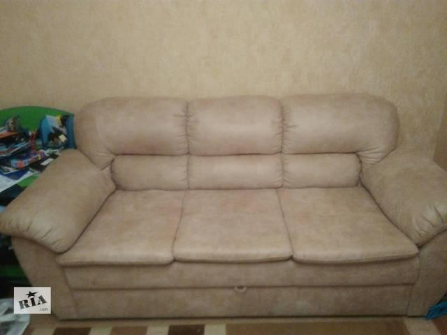 продам Продам диван и кресло. бу в Запорожье