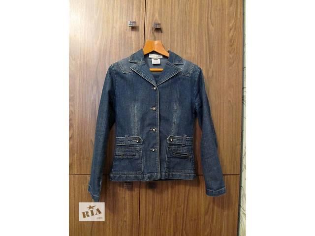купить бу Продам джинсовую куртку-пиджак б/у. в Днепре (Днепропетровск)