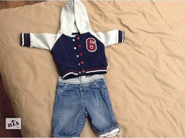 продам продам джинсы с кофточкой   до 6 месяцев бу в Харькове