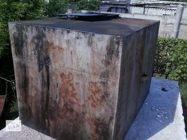 бу Продам емкость металл.(бак) V=6,5м.куб в Каменском (Днепродзержинске)