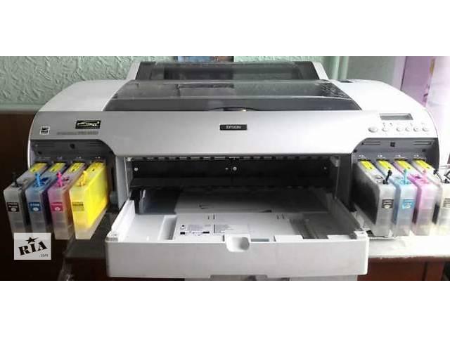 купить бу Продам Epson Stylus Pro 4880 (A2), плоттер, широкоформатный принтер в Киеве