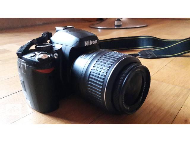 бу Продам фотоаппарат Nikon D60 в Киеве