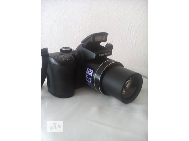 купить бу Продам фотоаппарат Samsung WB100 Black. в Полтаве