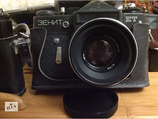 купить бу Продам фотоаппарат Зенит ЕТ (Zenit ET) с объективом Гелиос-44-2 в Одессе