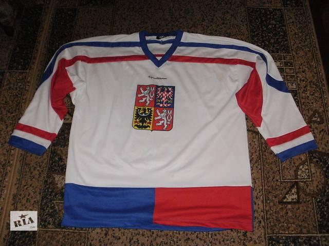 продам футболку сборной Чехии по хоккею- объявление о продаже  в Полтаве