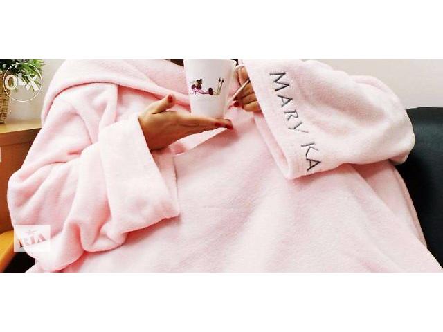 купить бу Продам фирменный розовый плед с рукавами (плед-халат) от Mary Kay в Днепре (Днепропетровск)