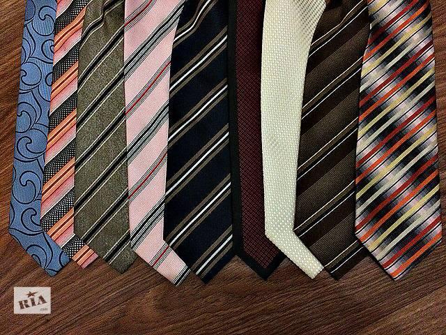 продам Продам галстуки 9 штук для пиджака, жакета бу в Киеве